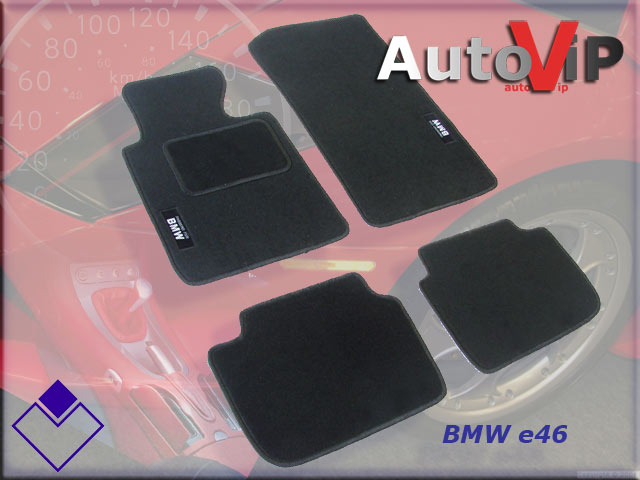 Autokoberce Textilni do BMW 3 E46 / 1998-2005 /