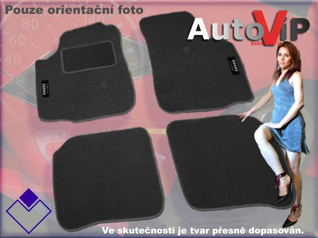 Autokoberce Textilni do Volkswagen Caddy / 2004-...... /
