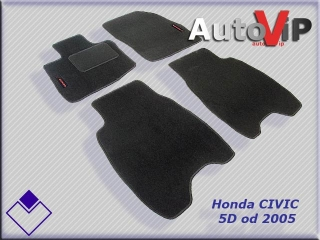 Autokoberce Textilni do Honda Civic VIII 5D / 2006-2012 / HB