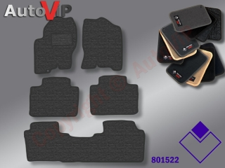 Autokoberce Textilni do Nissan Navara / 3/2005-2010 / Double-Cab