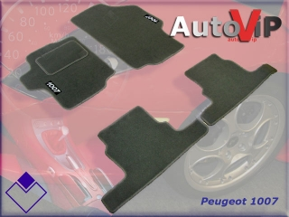 Autokoberce Textilni do Peugeot 1007 / 2005-...... /